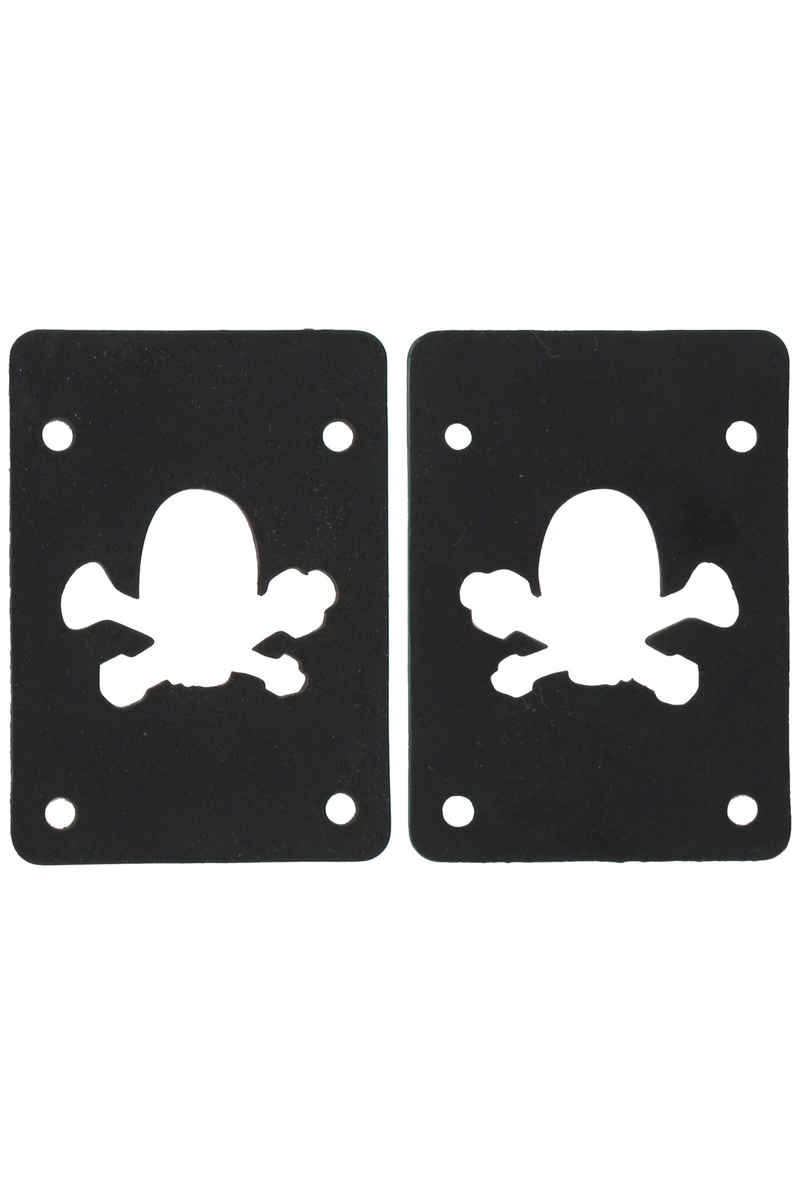MOB Skateboards Skull Logo 2mm Shock Pads (black) 2 Pack