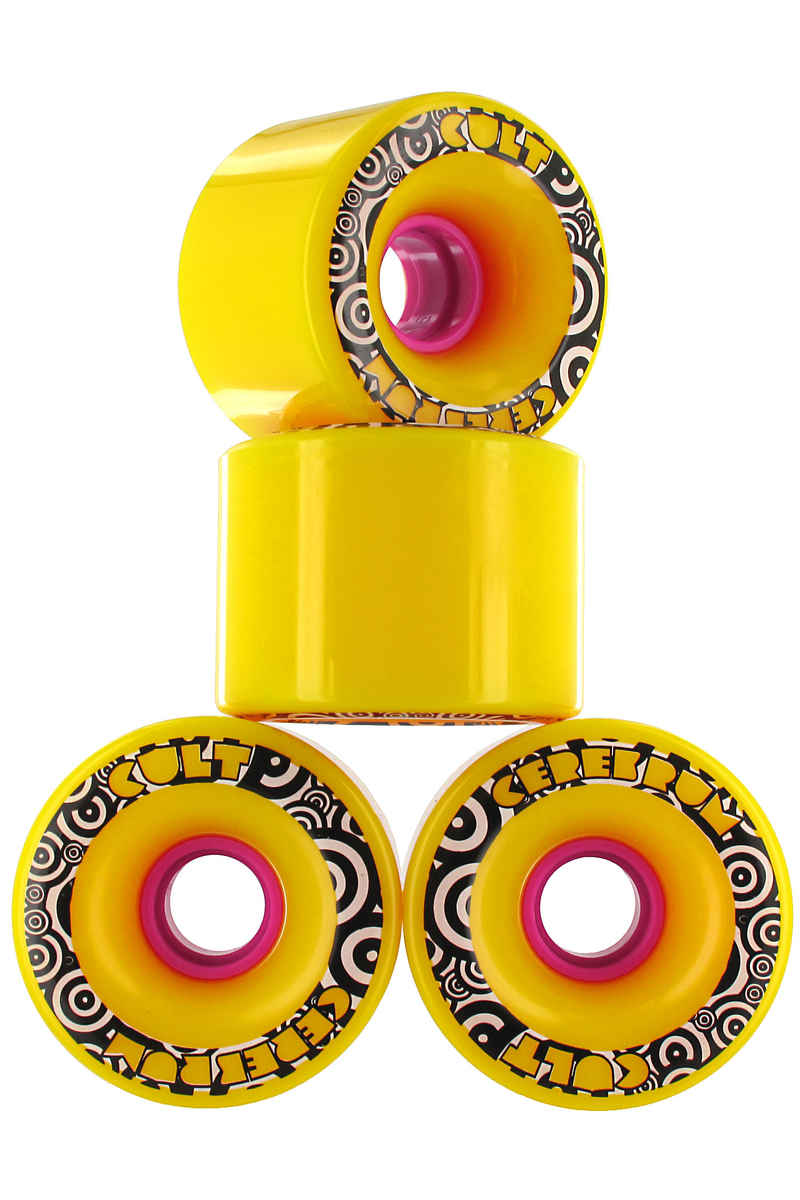 Cult Cerebrum CS Roue (yellow) 4 Pack 71mm 80A