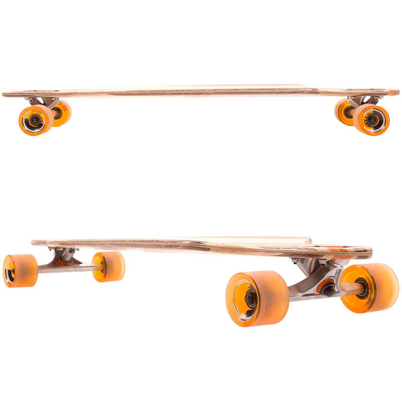 "Globe Prowler V-Ply 38.5"" (97,8cm) Longboard-Complète (natural orange)"