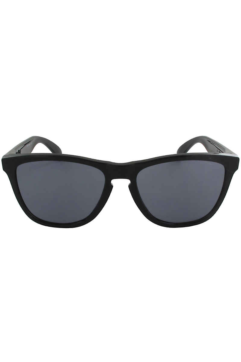 Oakley Frogskin Sunglasses (polished black grey)