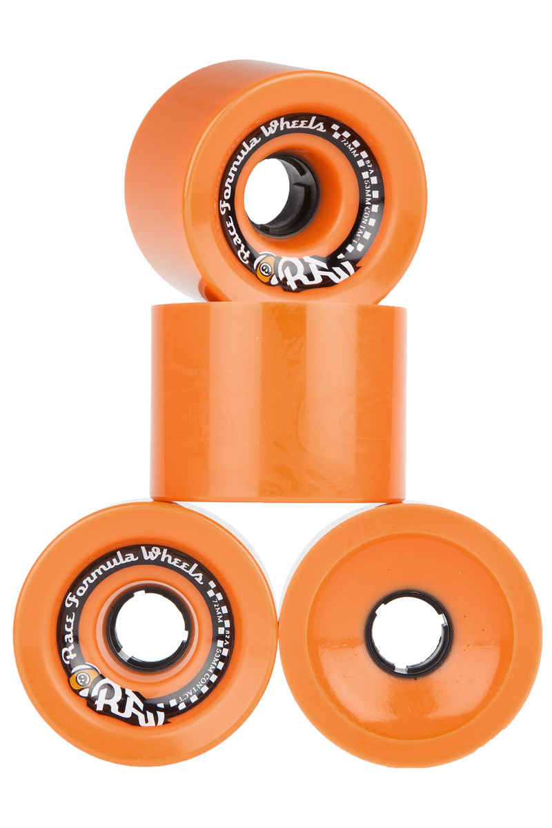 Sector 9 Race Formula OS Wheels (orange) 4 Pack 72mm 82A
