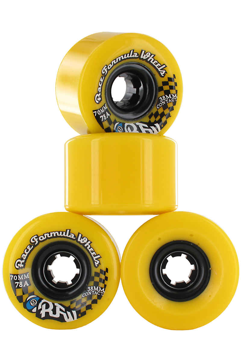 Sector 9 Race CS Wheels (yellow) 4 Pack 70mm 78A