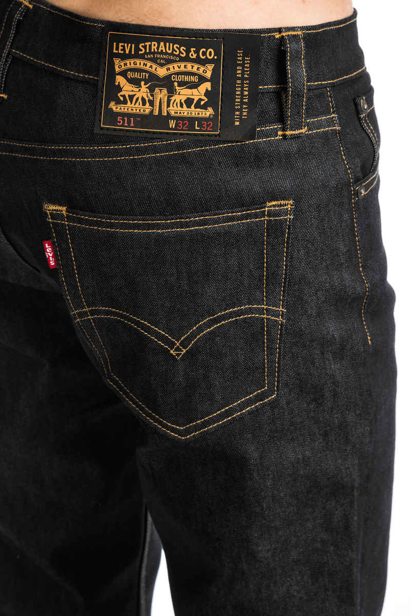 Levi's Skate 511 Slim Jeans (rigid indigo)