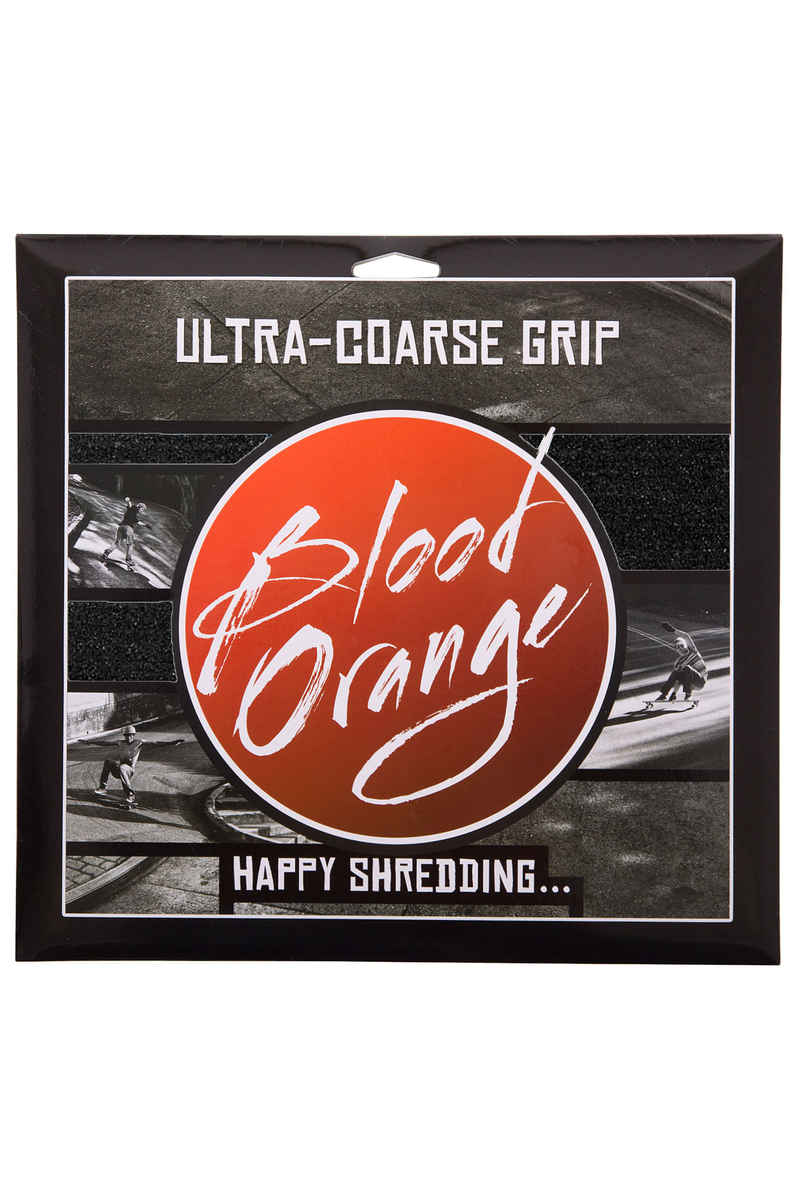 Blood Orange Heavy-Duty Ultra-Coarse Griptape (black) 4 Pack