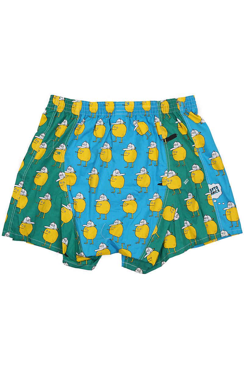 Lousy Livin Underwear Multicolor Zitrone Boxer
