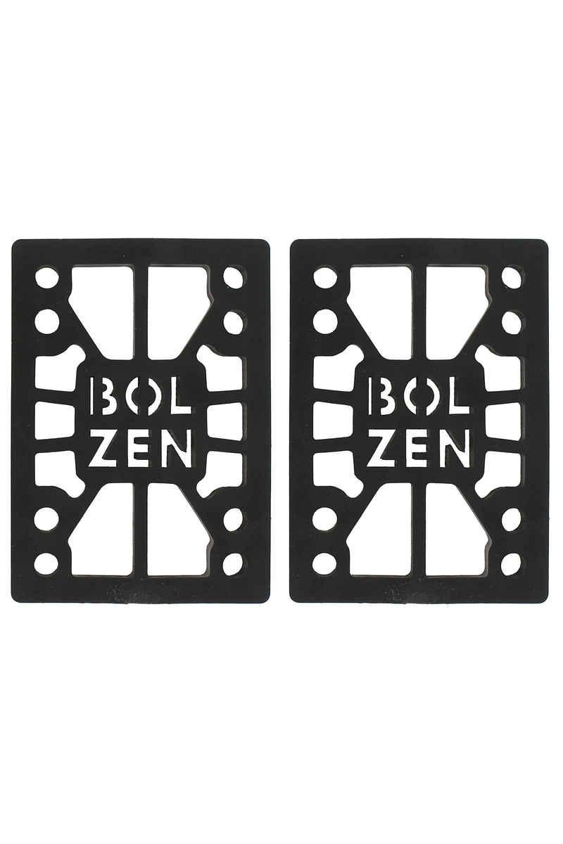 """Bolzen 1/4"""" Riser Pads (black) 2er Pack"""
