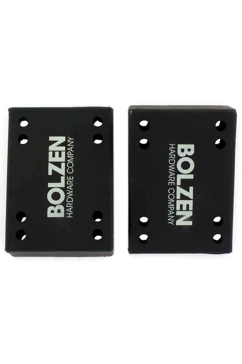 Bolzen 12° Angled Riser Pads (black) 2 Pack
