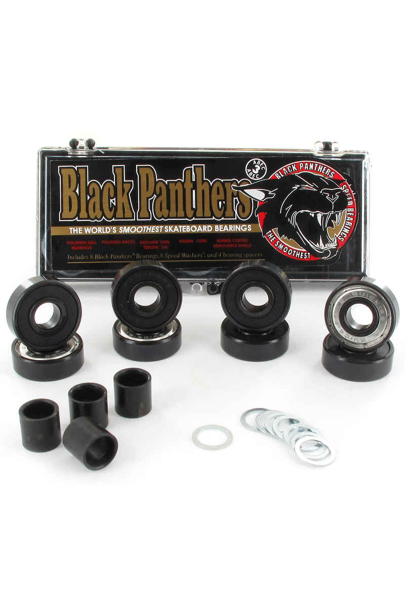 Black Panthers Abec 3 Bearings inkl. Spacer
