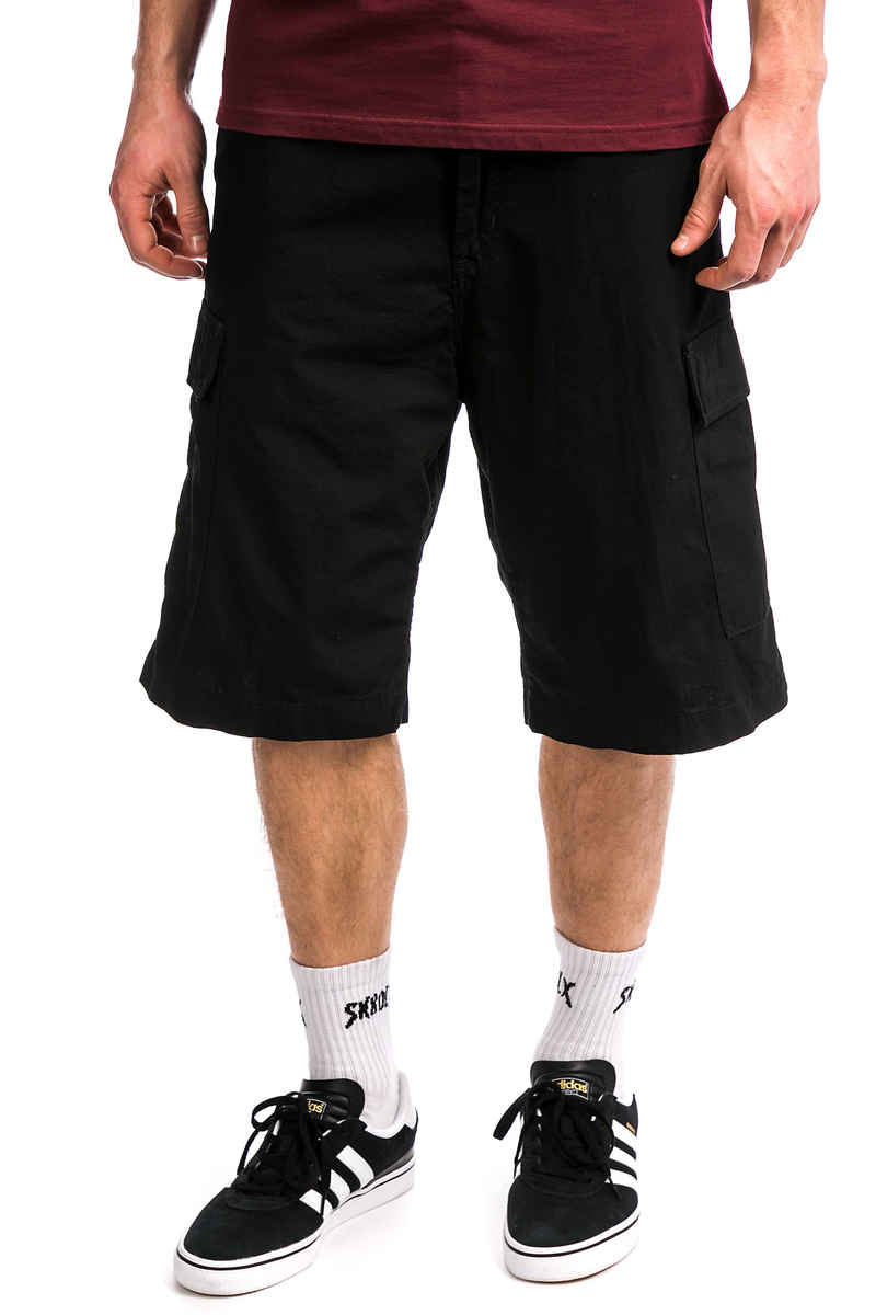 Carhartt WIP Cargo Columbia Shorts (black rinsed)