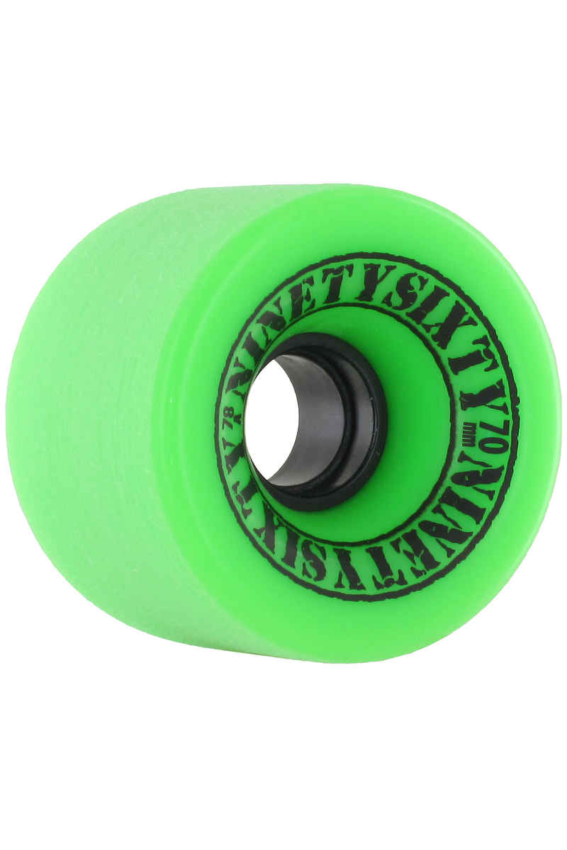 Ninetysixty Freeride 70mm 78A Rueda (green) Pack de 4