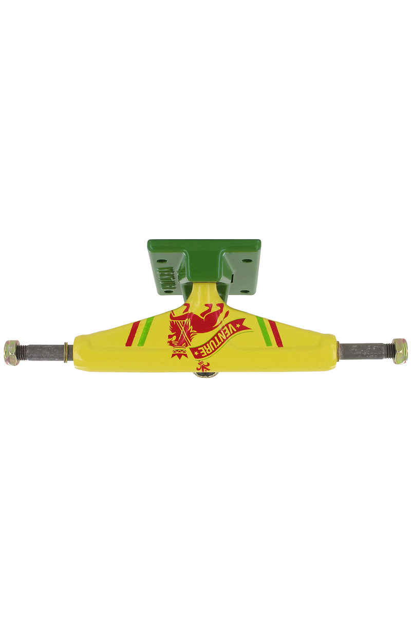 "Venture Trucks Color Rasta Lion Low 5.0"" Achse (yellow green)"