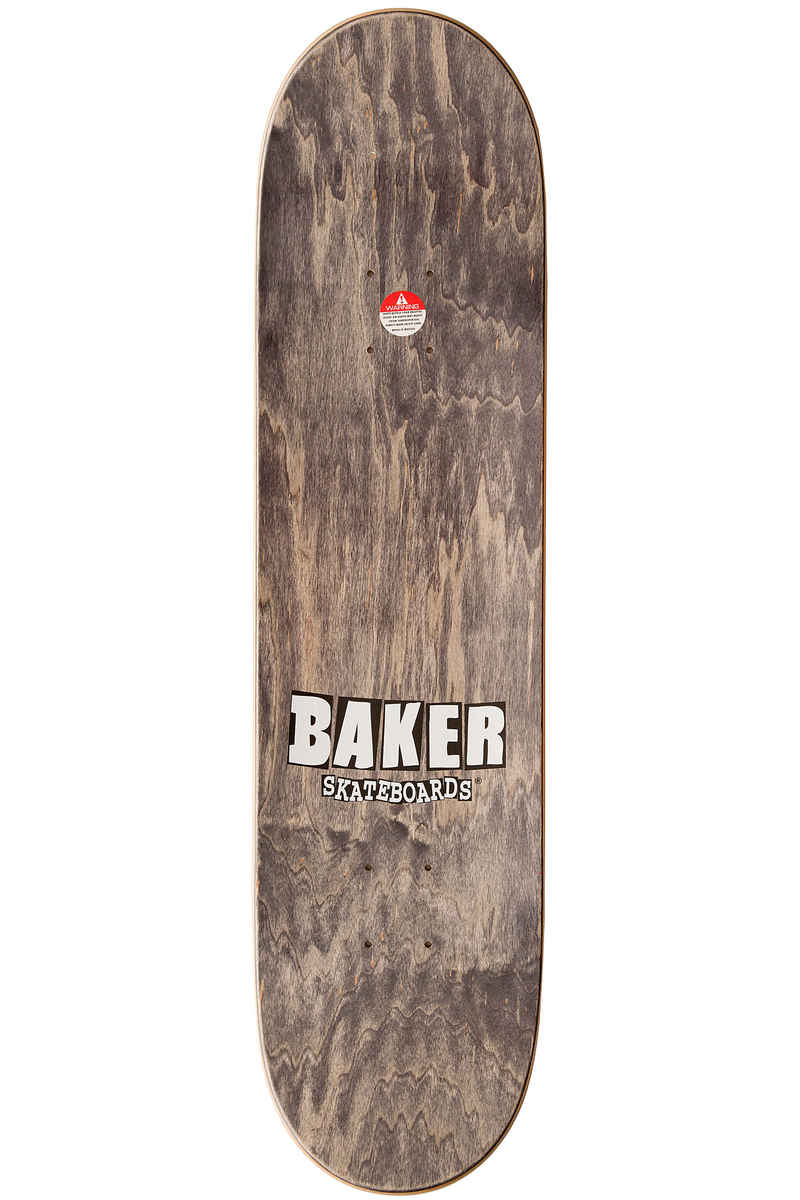 "Baker Team Brand Logo 8"" Deck (white)"