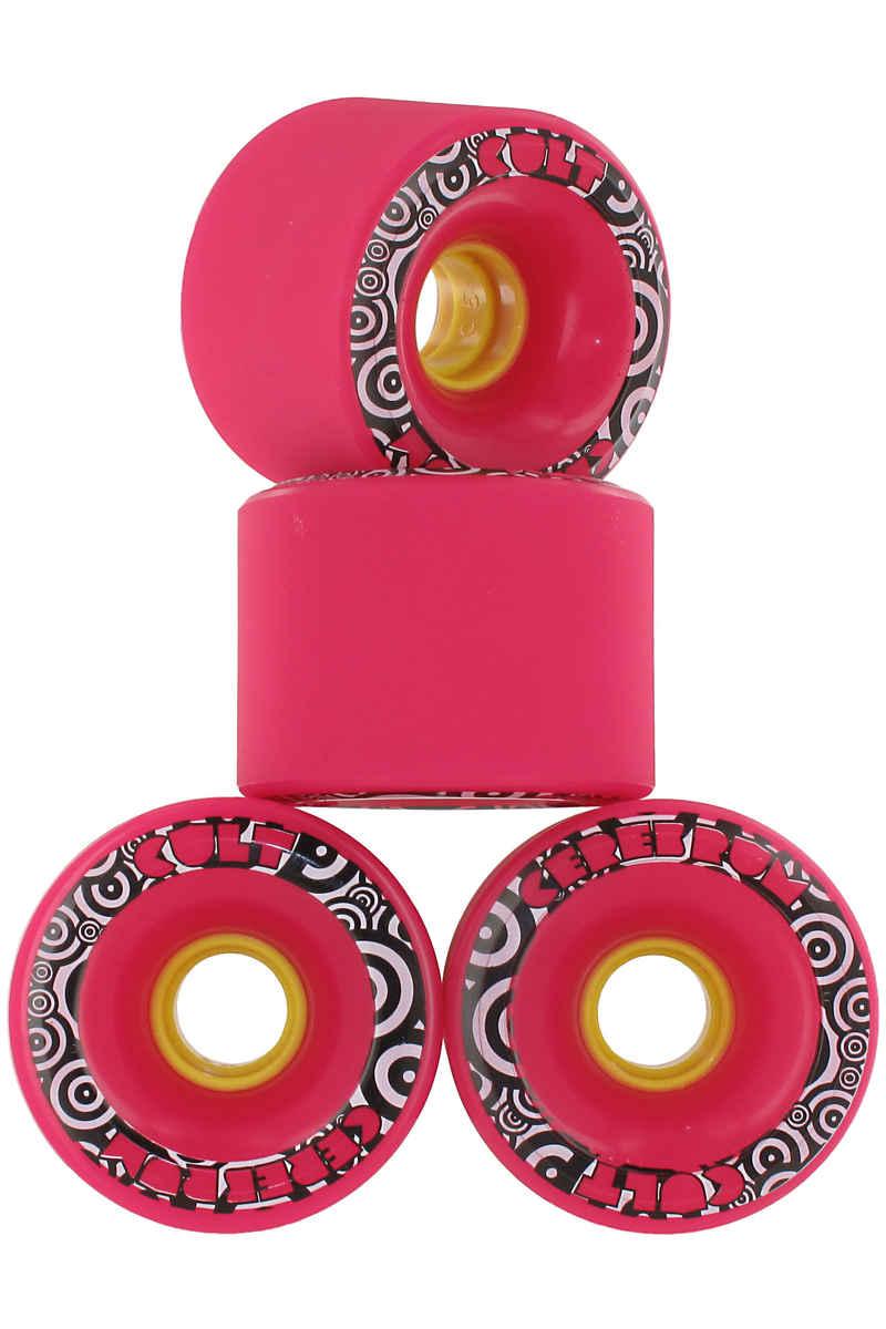 Cult Cerebrum SG 71mm 80A Wiel (pink) 4 Pack