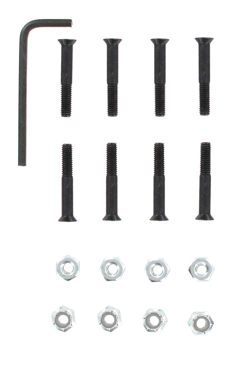 "Shortys 1 1/4"" Bolt Pack Flathead (countersunk) allen"