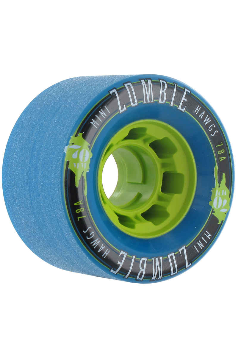 Hawgs Mini Zombies 70mm 78A Wheels 2016 (blue) 4 Pack