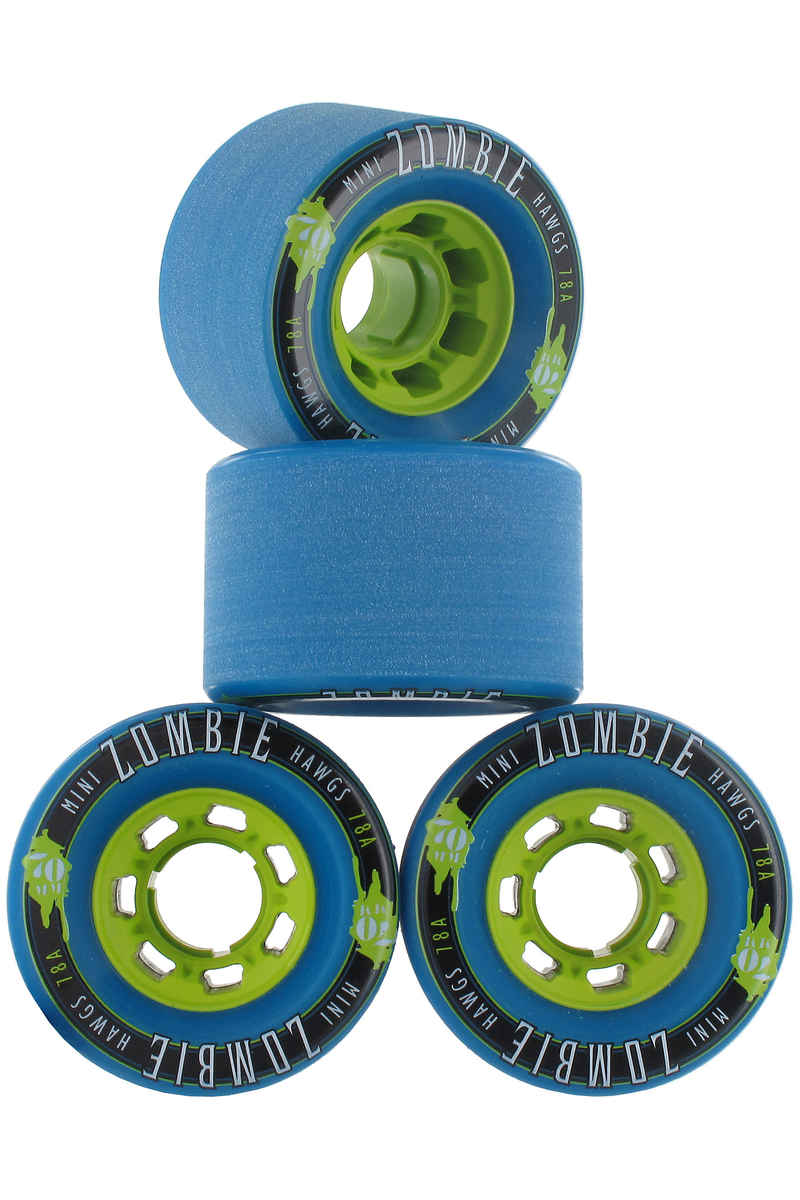 Hawgs Mini Zombies 70mm 78A Roue 2016 (blue) 4 Pack