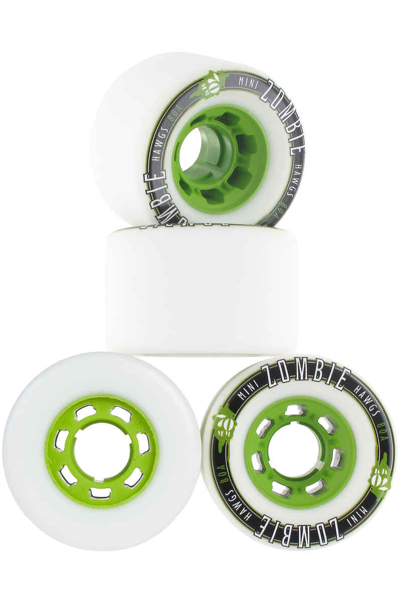 Hawgs Mini Zombies Roue 2016 (white) 4 Pack 70mm 80A