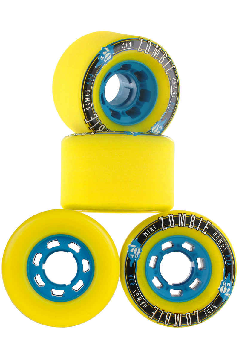 Hawgs Mini Zombies Roue 2016 (yellow) 4 Pack 70mm 82A