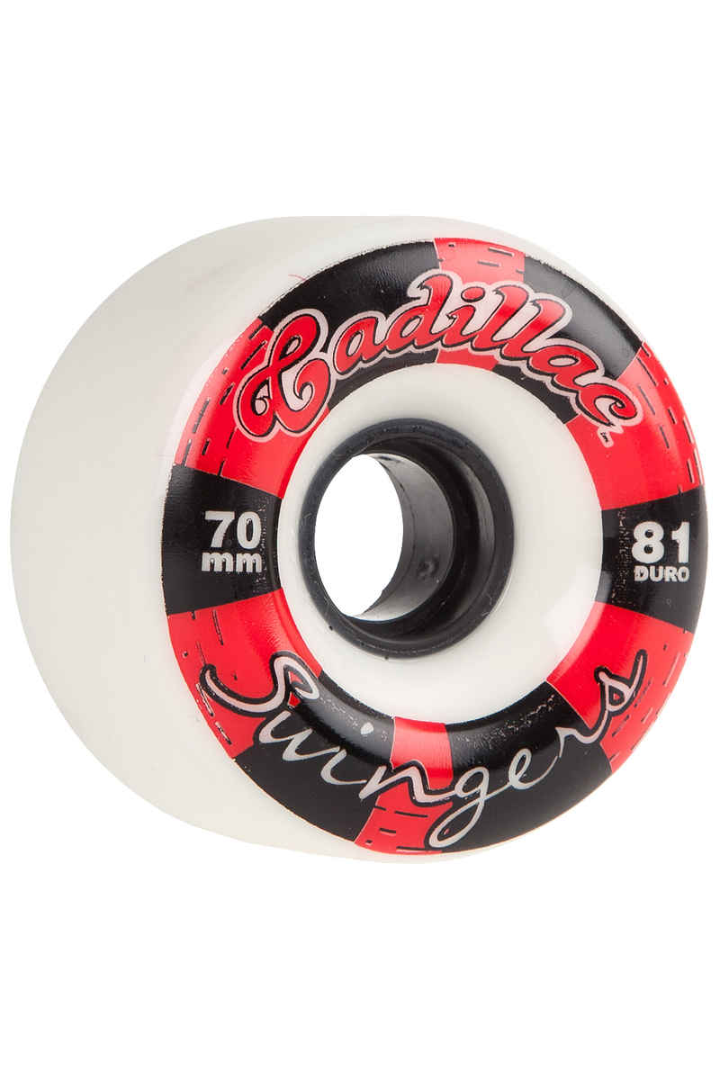Cadillac Wheels Swingers Wiel (white) 4 Pack 70mm 81A