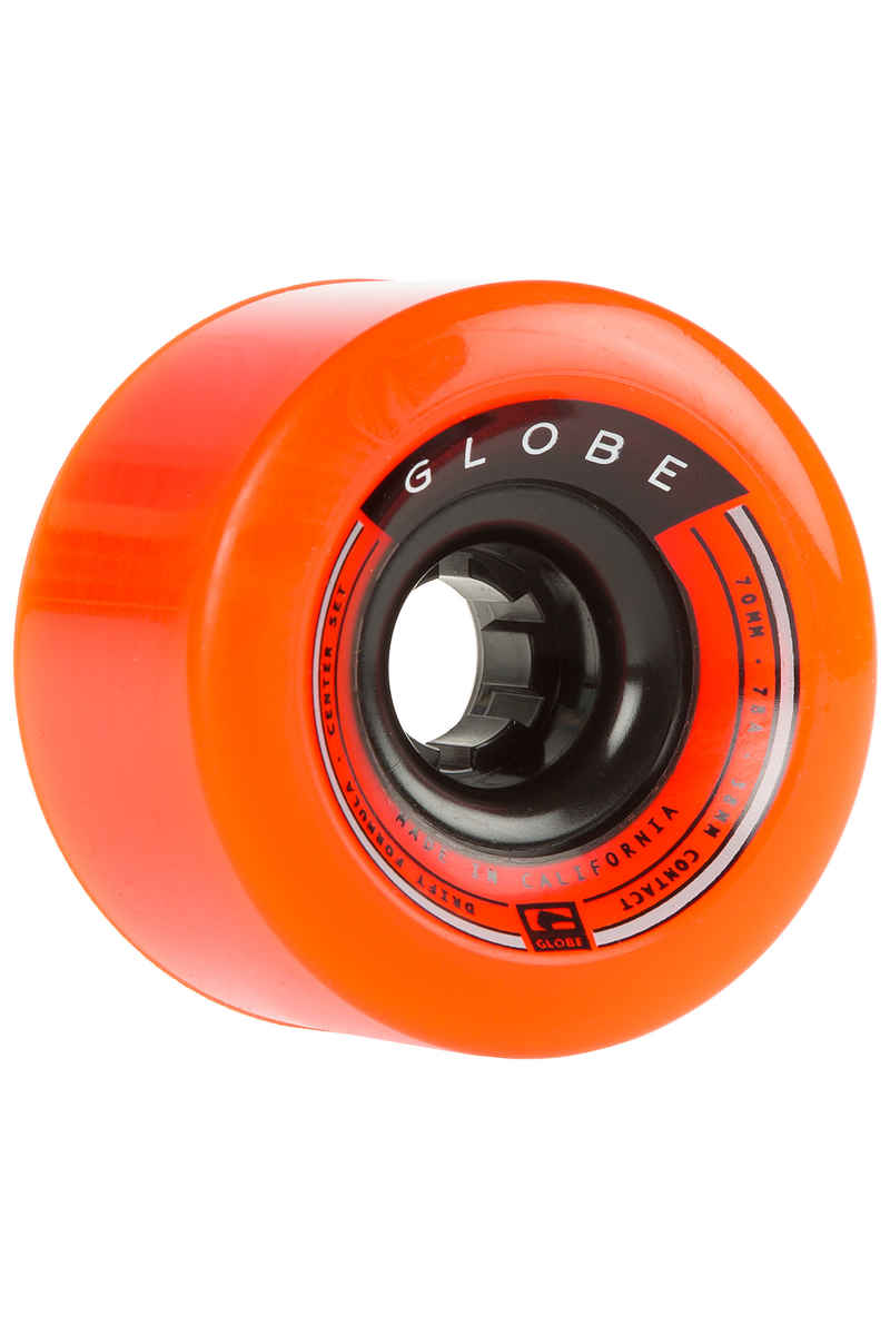 Globe Drifter 70mm 78A Wheels (orange) 4 Pack