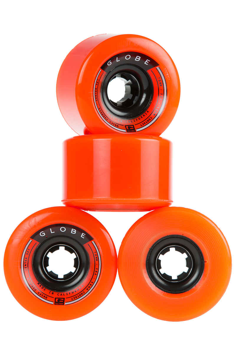 Globe Drifter Wiel (orange) 4 Pack 70mm 78A