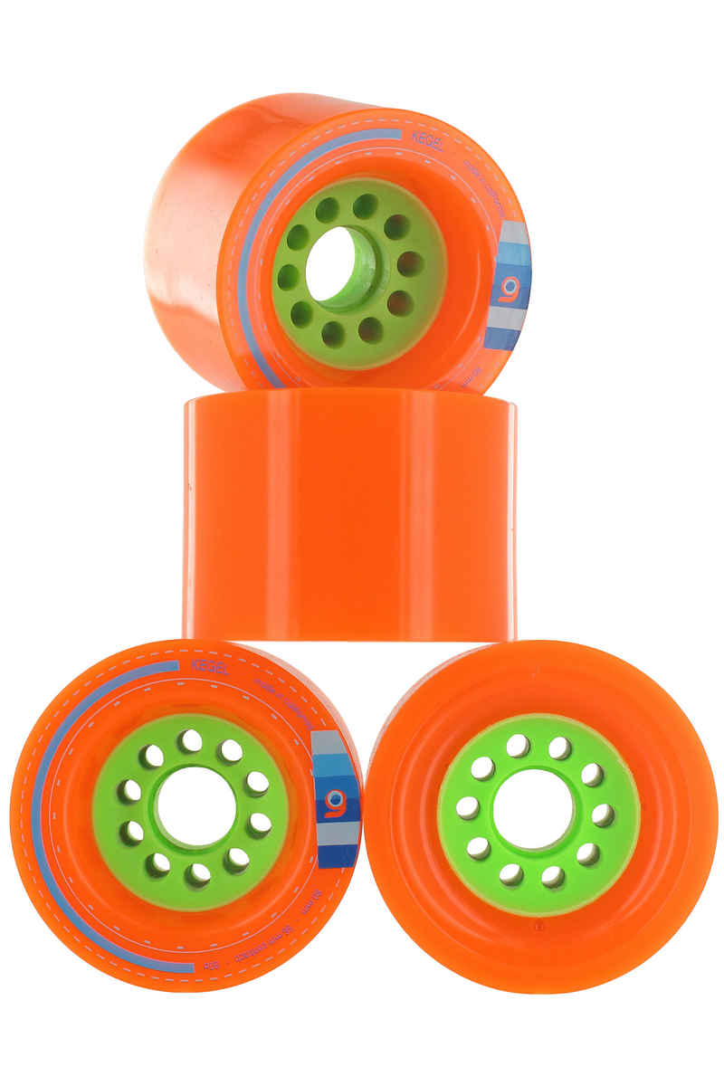Orangatang Kegel Rollen (orange) 4er Pack 80mm 80A