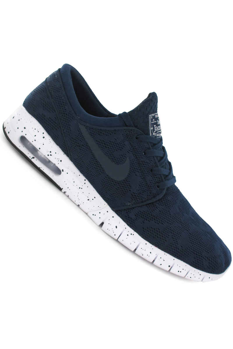 Nike SB Stefan Janoski Max Shoes (midnight navy white)