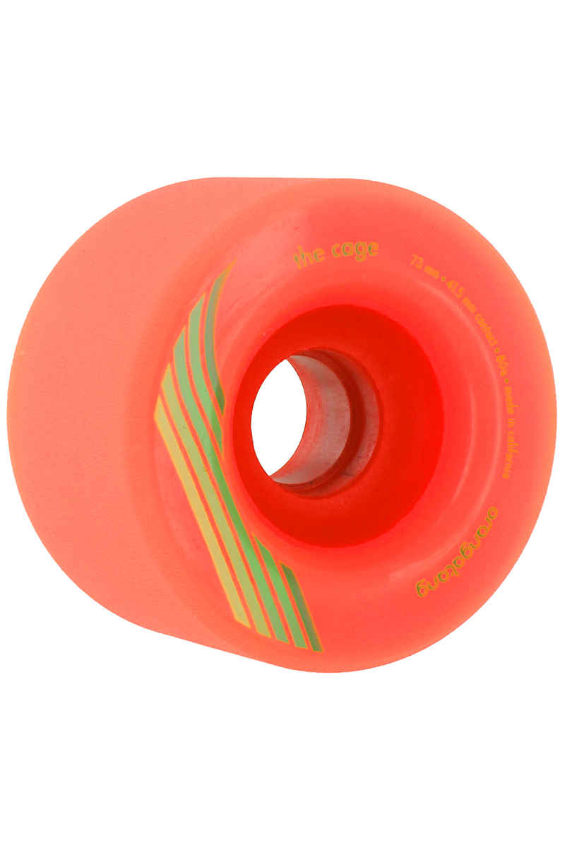 Orangatang The Cage 73mm 80A Wheels (orange) 4 Pack