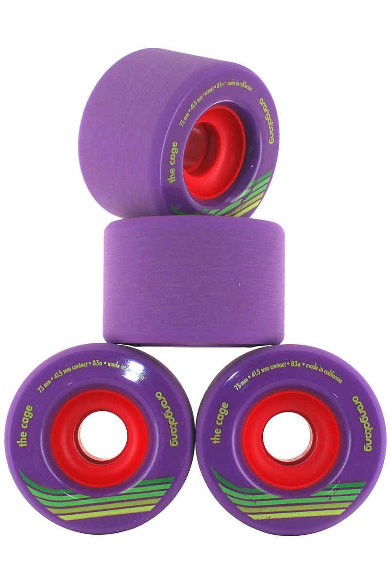 Orangatang The Cage Rueda (purple) 83A Pack de 4 73mm