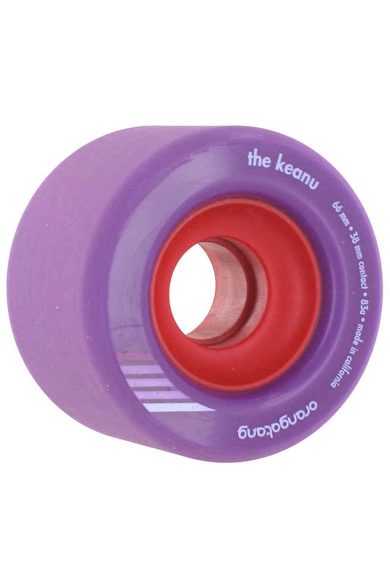 Orangatang The Keanu Wheels (purple) 83A 4 Pack 66mm