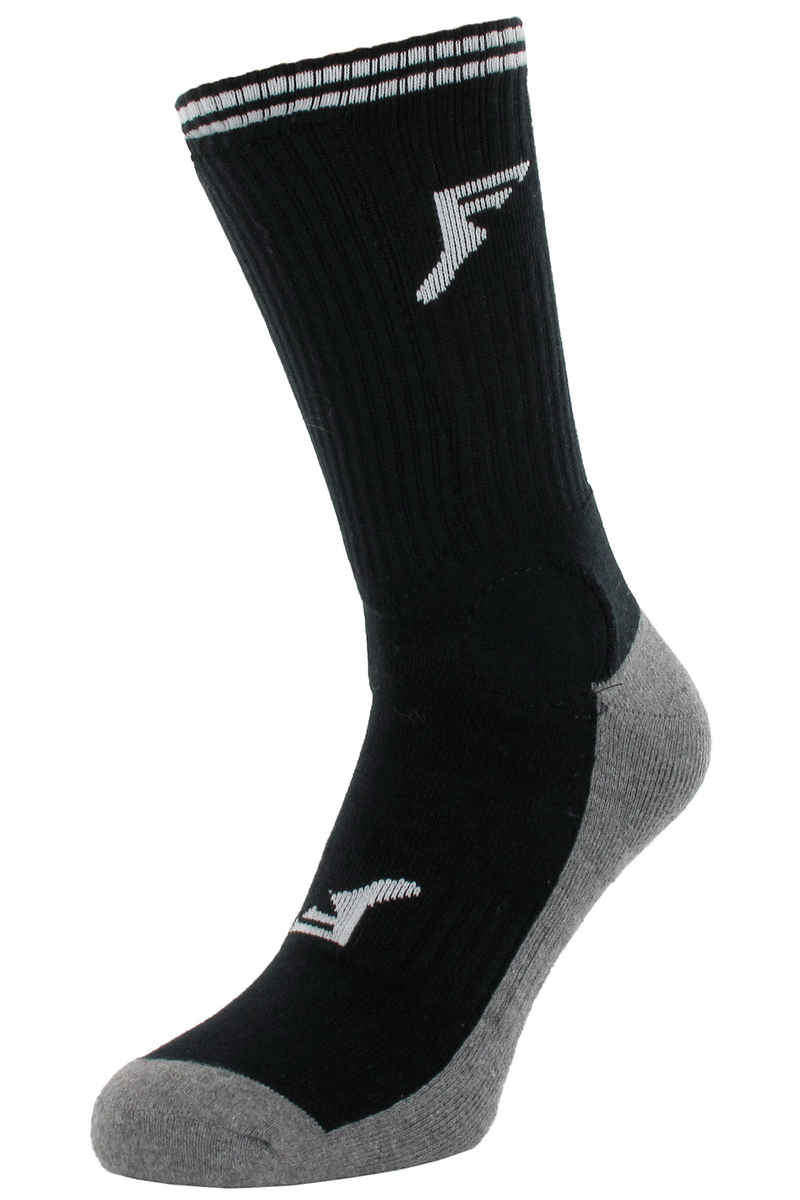 Footprint Painkiller Calcetines US 6-13 (bamboo charcoal black)