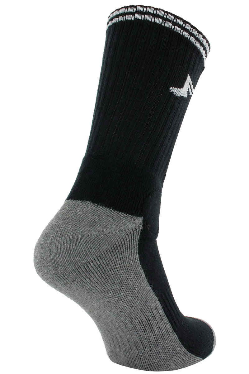 Footprint Painkiller Socks US 6-13 (bamboo charcoal black)