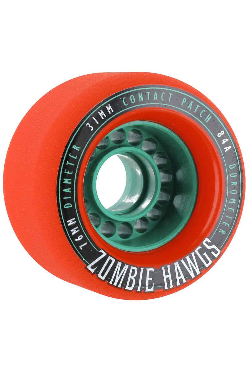 Hawgs Zombies 76mm 84A 2014 Rollen (orange) 4er Pack