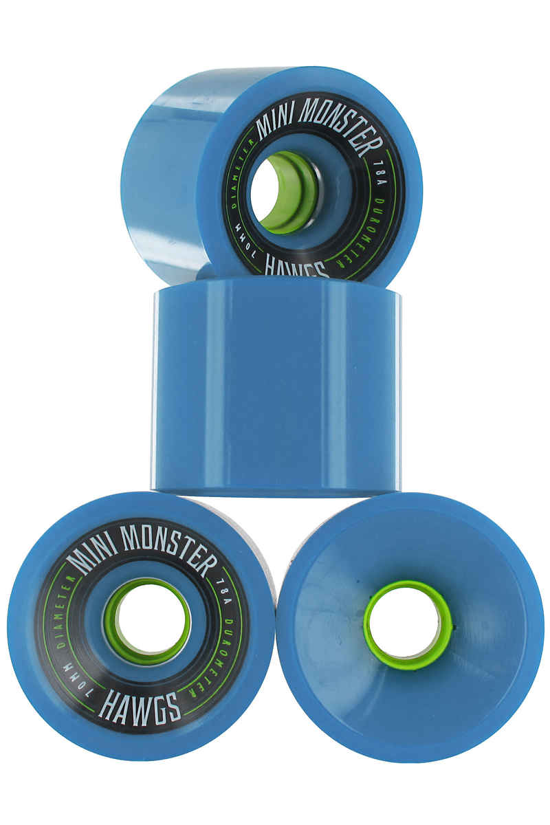 Hawgs Mini Monster Roue 2014 (blue) 4 Pack 70mm 78A