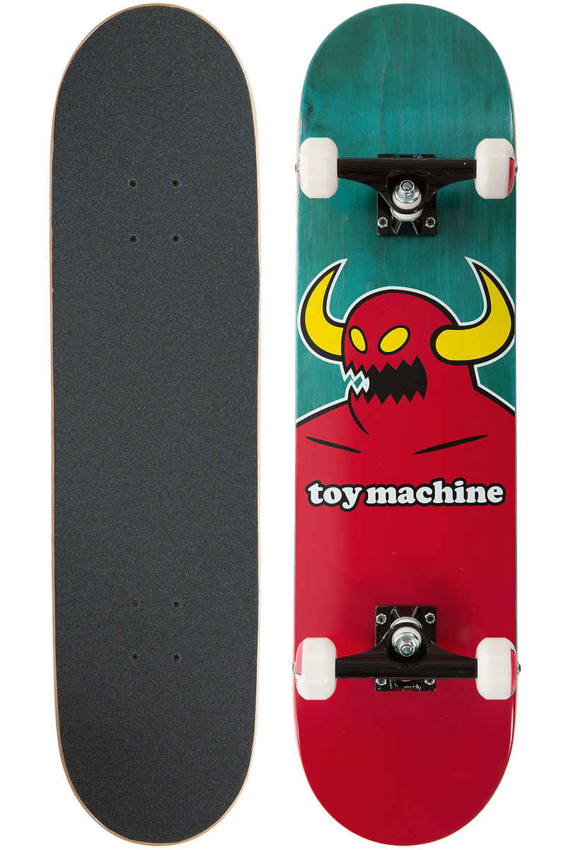"Toy Machine Monster 8"" Complete-Skateboard (red)"