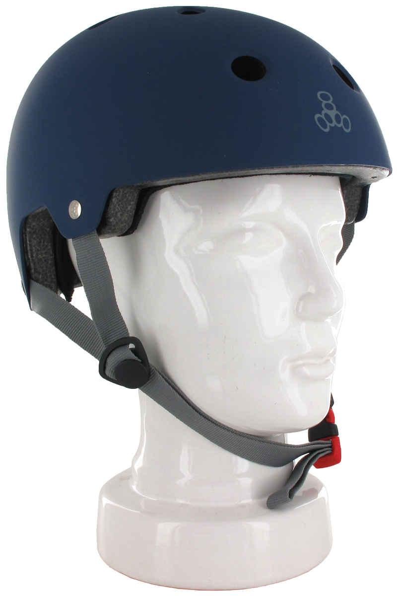 Triple Eight Brainsaver Helm (blue rubber)
