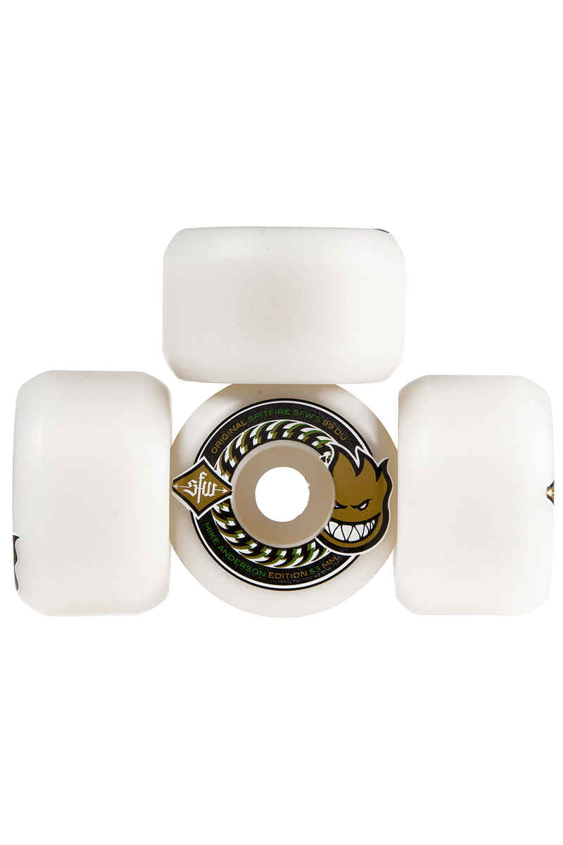 Spitfire Anderson SFW II Rollen (white) 53mm 99A 4er Pack