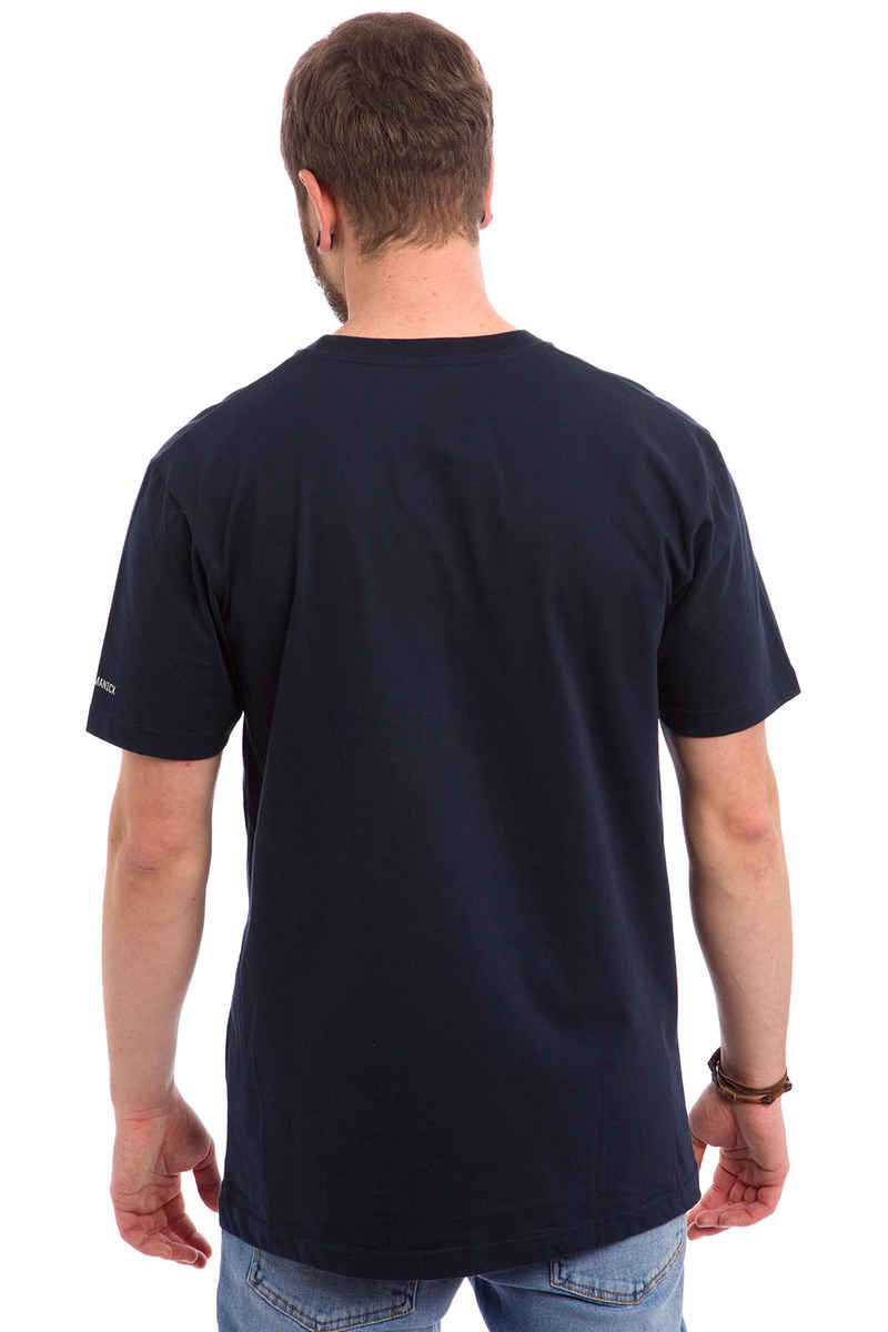 Cleptomanicx Möwe T-Shirt (dark navy)