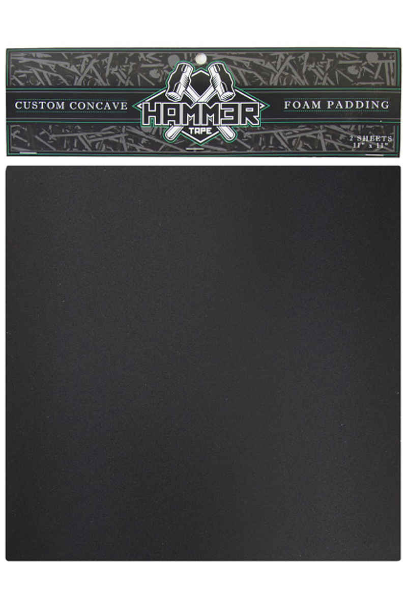 "Landyachtz Hammer 11"" x 11"" Custom Concave Foam Grip Skate (black) 2 Pack"