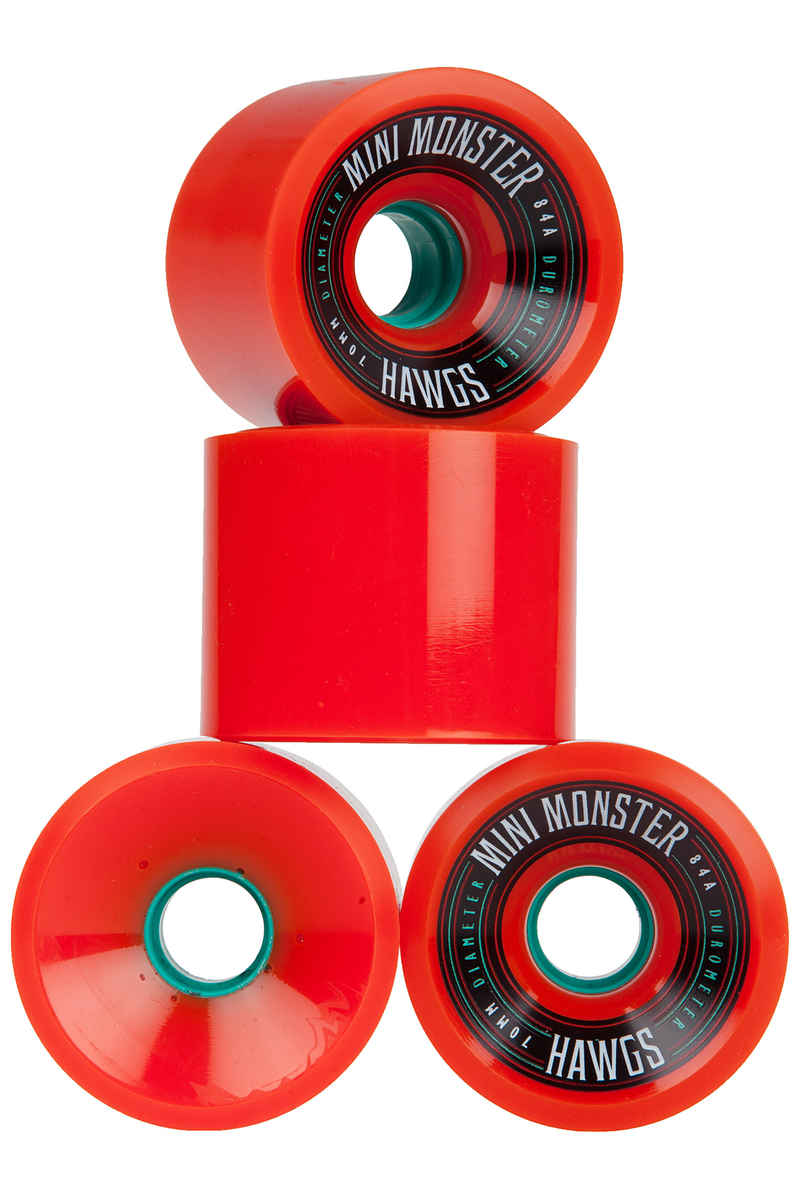 Hawgs Mini Monster Roue (orange) 4 Pack 70mm 84A