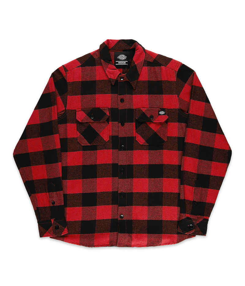 Dickies Sacramento Flannel Chemise (red)