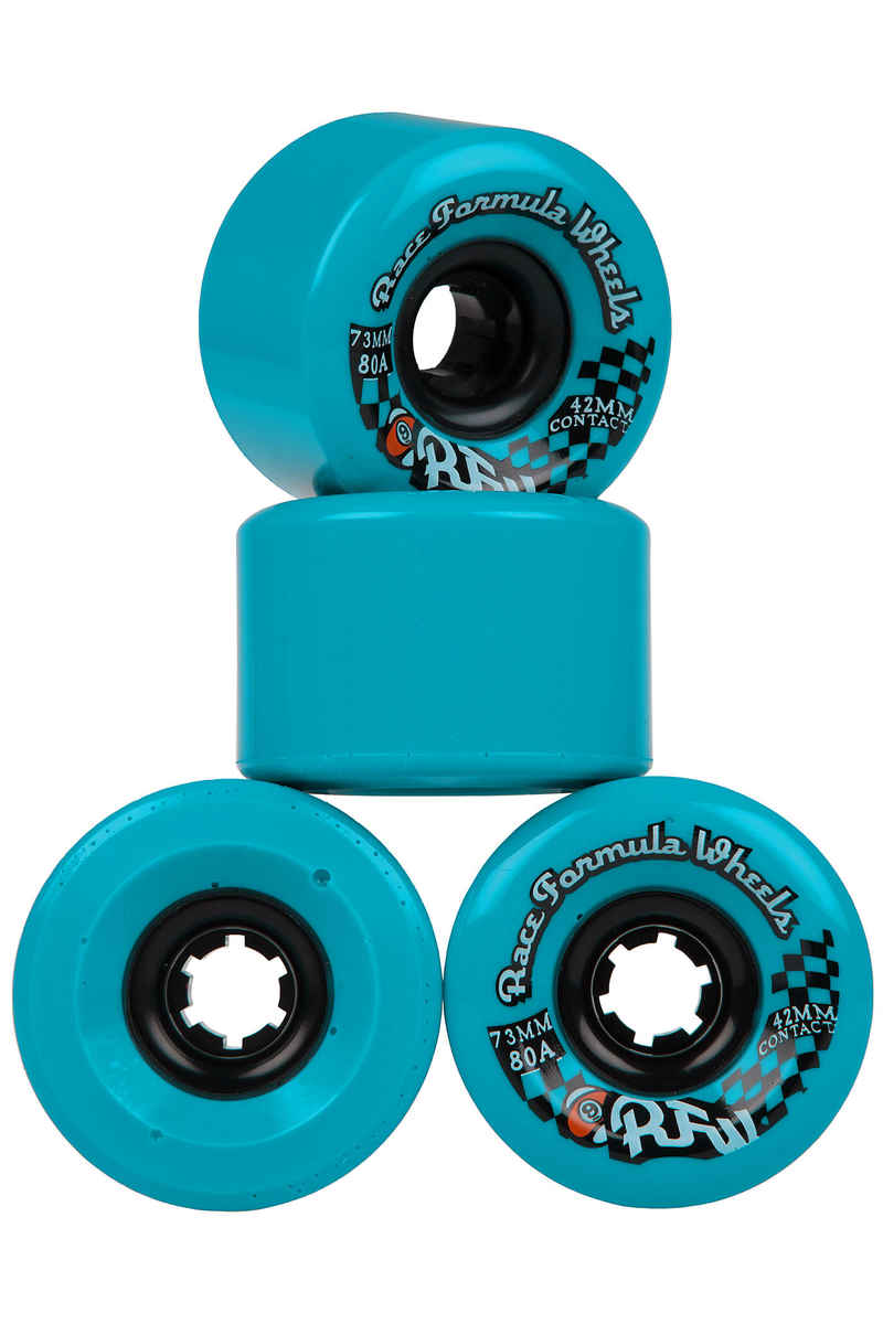 Sector 9 Race Formula CS Rollen (blue) 4er Pack 73mm 80A