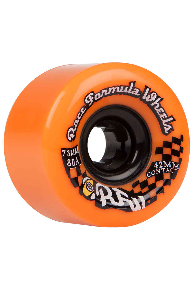 Sector 9 Race Formula 73mm 80A CS Wheels 2015 (orange) 4 Pack