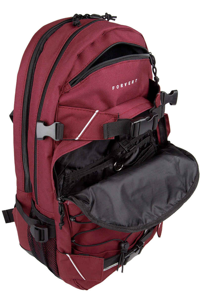 Forvert Laptop Louis Backpack 27L (burgundy)
