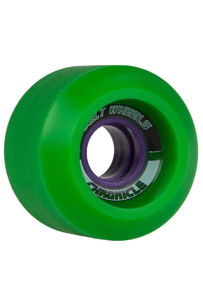Cult Chronicle 65mm 78A Rollen (green) 4er Pack