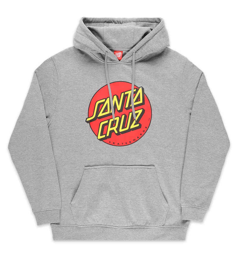 Santa Cruz Classic Dot sweat à capuche (dark heather)