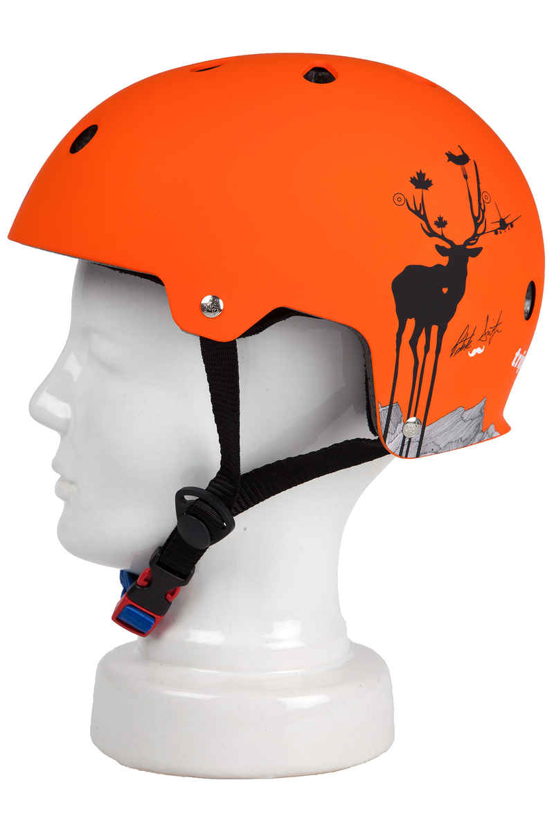 Triple Eight Brainsaver Switzer Promodel Helm (orange rubber)