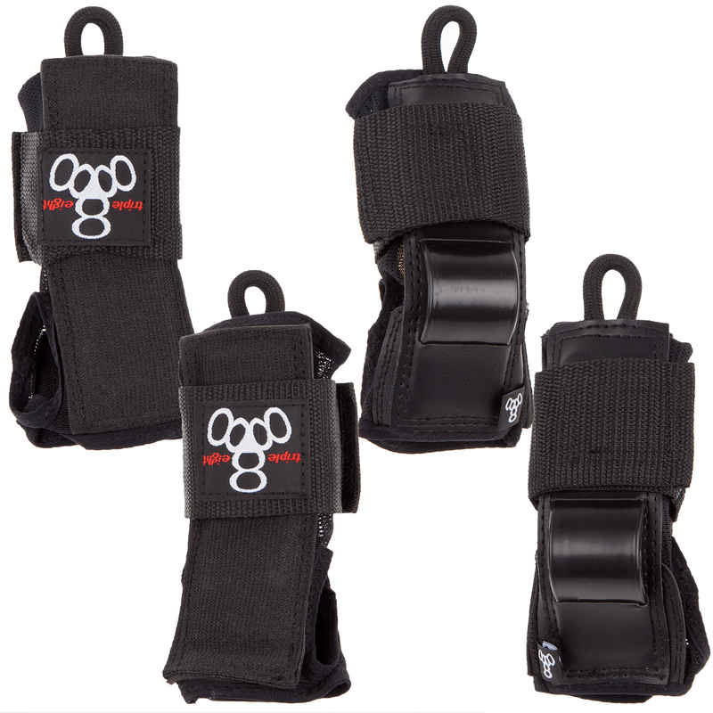 Triple Eight Derby Set de protección 3er Pack kids (black)