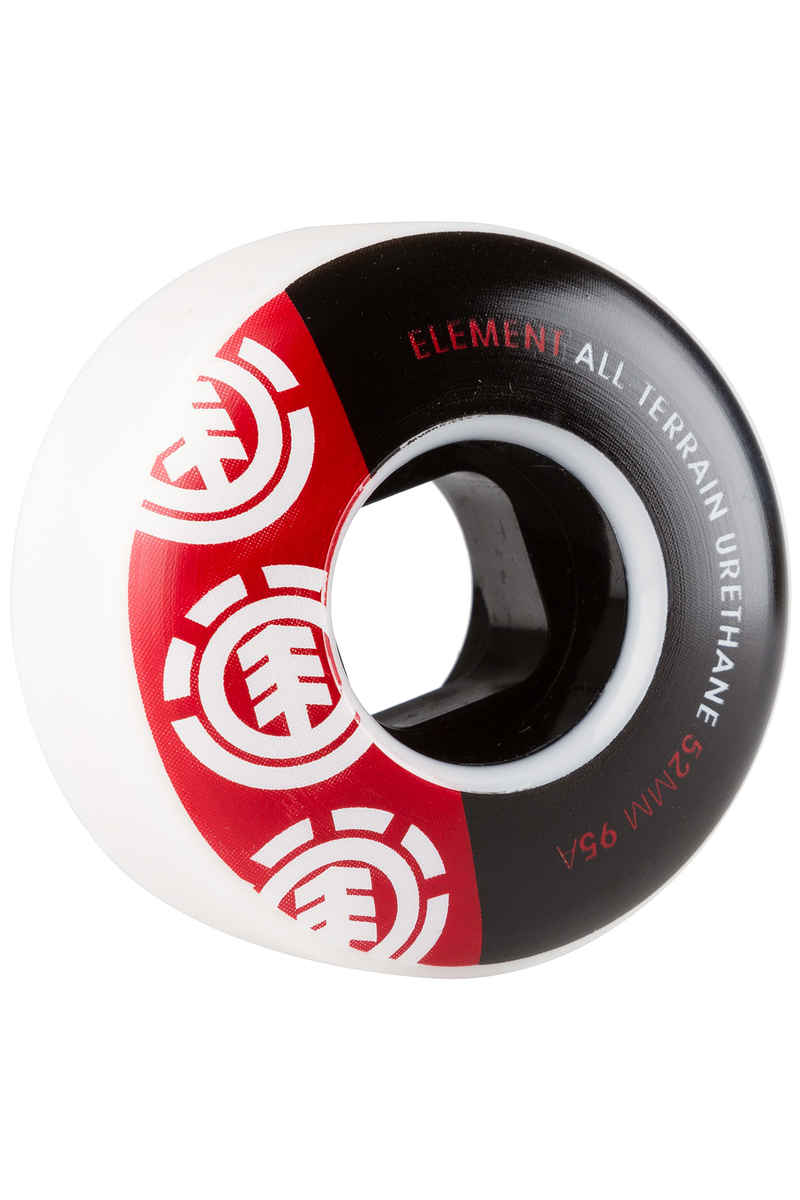 Element Section TW 52mm Ruote (black red white) pacco da 4