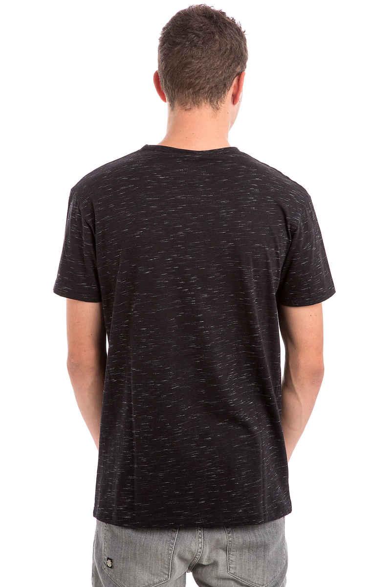 Iriedaily Mesh Flag T-Shirt (black melange)